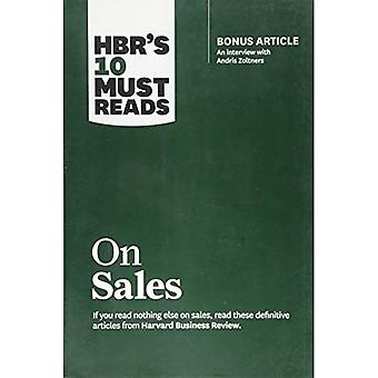 HBR's 10 Must Reads on Sales (with bonus interview� of Andris Zoltners) (HBR's� 10 Must Reads): Bonus Article: An Interview with Andris Zoltners (HBR's 10 Must Reads)