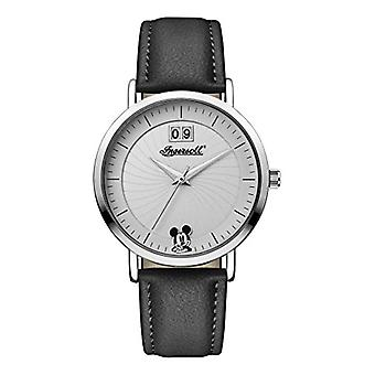 Ingersoll watch Disney ladies Quartz analog Display with Black PU Strap and White Dial ID00501