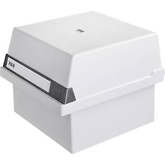 HAN Card index box 965-11 Light grey 965-11 No. of cards (max.): 800 cards A5 portrait