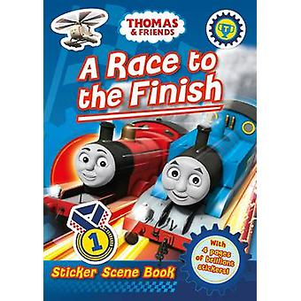 Thomas and Friends-A Race to the Finish Sticker Scene-978140528080