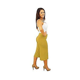 DBG kvinders dame Gaucho bred firbenede efterår bukser