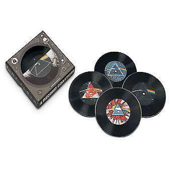 Pink Floyd Dark Side 45 Record Coasters