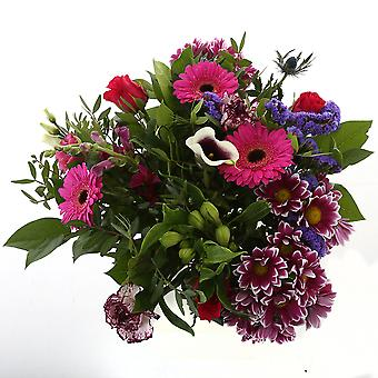 Botanicly - Bouquets | Bunch of Flowers Kim extra large, purple | Height: 50 cm