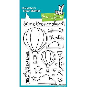 Lawn Fawn Clear Stamps Blue Skies (LF511)