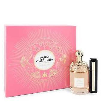 Aqua Allegoria Pera Granita By Guerlain Gift Set -- 4.2 Oz Eau De Toilette Spray + 0.28 Oz Intense  V728-546034