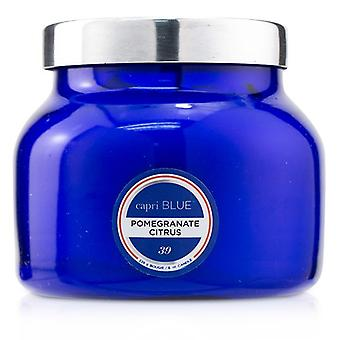 Capri Blue Blue Jar Candle - Pomegranate Citrus 226g/8oz