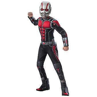 Человек муравей Делюкс мышцы груди Marvel Мстители супергероя Скотт Lang костюм