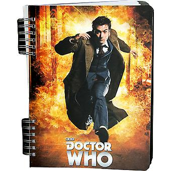 Doctor Who Tenth Doctor Lenticular Journal