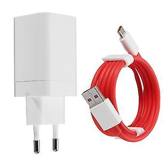 5V 4a original carregador de telefone rápido eu adaptador tipo-c cabo para oneplus 3T/5