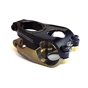 Renthal Duo Stem 31,8 mm sort/guld