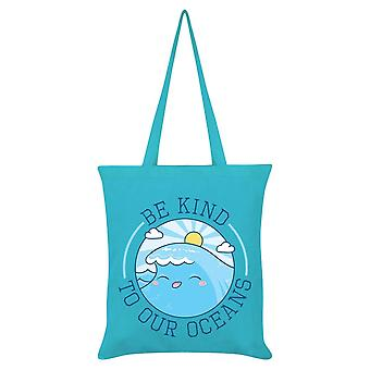 Grindstore Be Kind To Our Oceans Tote Bag