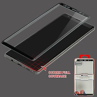 MYBAT Full Coverage Tempered Glass Screen Protector/Black for Galaxy Note 8