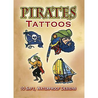 Dover Publications Pirates Tattoos Dov 40220