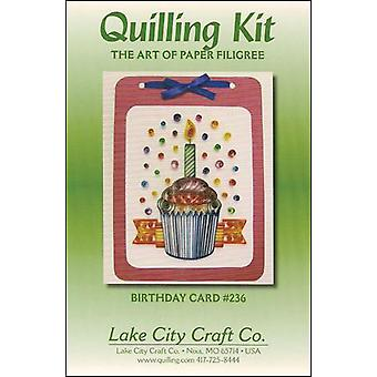 Quilling Kit Birthday Cupcake Q236