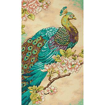 Indian Peacock Counted Cross Stitch Kit 9