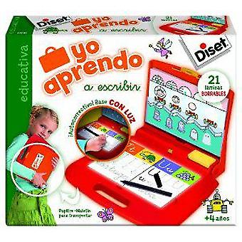 Diset I Learn To Write (Kids , Toys , Education , Letters And Languages)