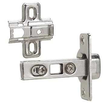 AFT Clip hinge with straight Cazoleta