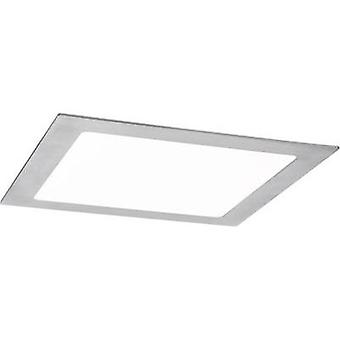 LED flush mount panel 13.5 W Warm white, Neutral white, Daylight white Paulmann 50037 Iron (brushed)