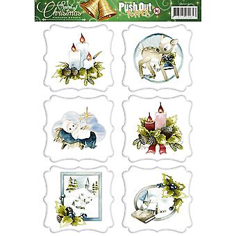 Find It Trading Precious Marieke 3D Topper Sheet-Spirit Of Christmas SB10115