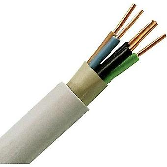 Sheathed cable NYM-J 5 G 1.5 mm² Grey Kopp 153010840 10 m