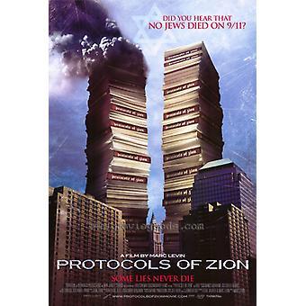 Protokoller af Zion film plakat (11 x 17)