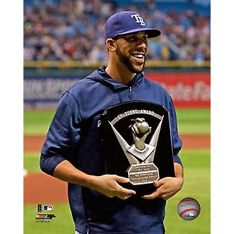 David Price with the 2012 Cy Young Award Photo Print