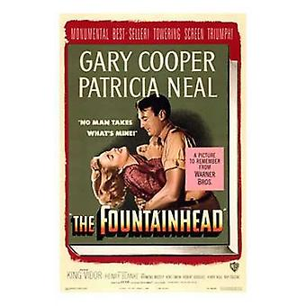 The Fountainhead Movie Poster (11 x 17)