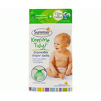 Summer Infant Nappy/Diaper Disposal Bags - 75 pack