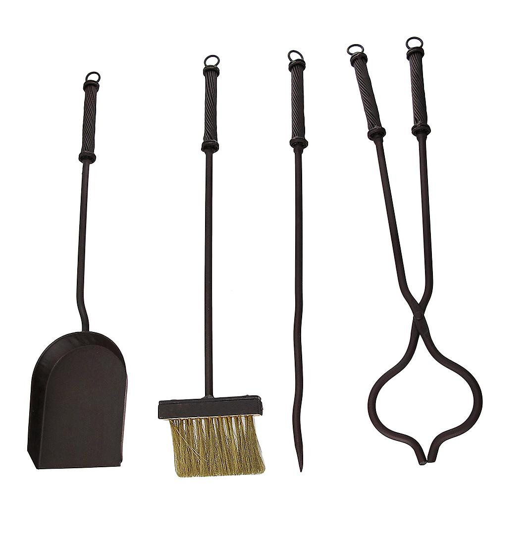 Rustic Western Star Wrought Iron Fireplace Tool Set Fruugo
