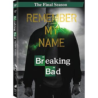 Breaking Bad: The Final Season [DVD] USA import