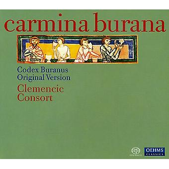 Clemencic Consort - Carmina Burana - Codex Buranus oprindelige Version [SACD] USA importerer