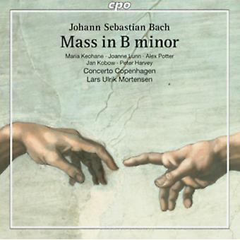 Js Bach:Mass In B Minor [Maria Keohane; Joanne Lunn; Alex Potter; Jan Kobow; Peter Harvey; Concerto Copenhagen Lars Ulrik Mortensen ] [CPO : 777851-2] by Concerto Copenhagen