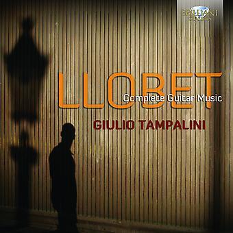 Miguel Llobet - Miguel Llobet: Complete Guitar Music [CD] USA import