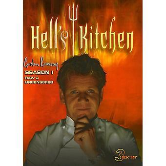 Hell's Kitchen - Hell's Kitchen: Season 1 Raw & Uncensored [DVD] USA import