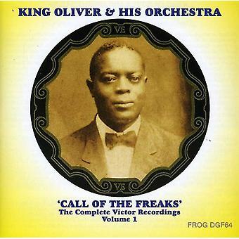 King Oliver & hans orkester - King Oliver & hans orkester: Vol. 1-komplet sejrherrerne [CD] USA importerer