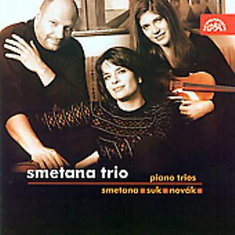 Trío de Smetana - importación de Smetana, Suk, Nov K: USA Piano tríos [CD]