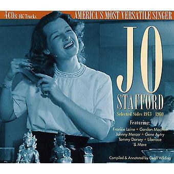 Jo Stafford - udvalgte sider 1943 til 1960: Americas M [CD] USA import