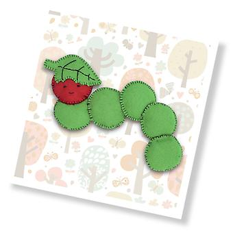 Clyde the Caterpillar Mini Sewing Kit