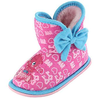Girls Kids Quality Moshi Monsters Comic Cartoon Character Slipper Boot 63925