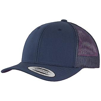 Navy Flexfit RETRO Snapback Cap - trucker