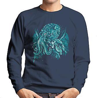 Cthulhu A God Beyond The Sea Men's Sweatshirt