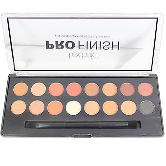 Technic Pro Finish Eyeshadow Pallette Toffee Edition