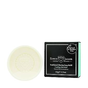 Edwin Jagger Traditional Shaving Soap Refill Cooling Menthol 65g