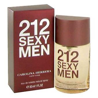 212 sexede mænd af Carolina Herrera Eau De Toilette EDT Spray 30ml