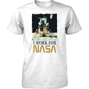 Ich arbeite für die NASA - Space inspiriert - T-Shirt für Herren