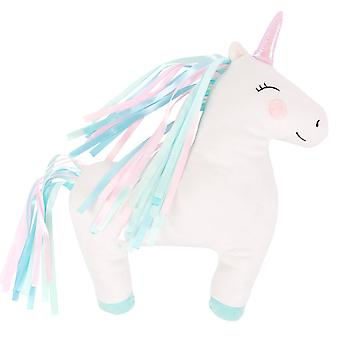 Sass & Belle Rainbow Unicorn Decorative Cushion