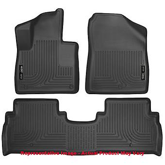 Husky Liners Floor Mats - WeatherBeater 98691 Black Fits:KIA 2016 - 2016 SORENT
