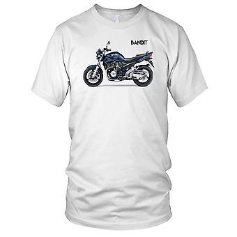 Suzuki Bandit 1200 Classic Motorbike Biker Mens T Shirt