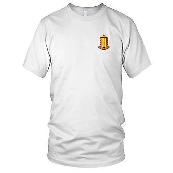 Batallón de artillería de campo - 38 Estados Unidos Ejército bordado parche - para hombre T Shirt