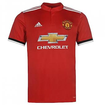 2017-2018 Man Utd Adidas Home Football Shirt